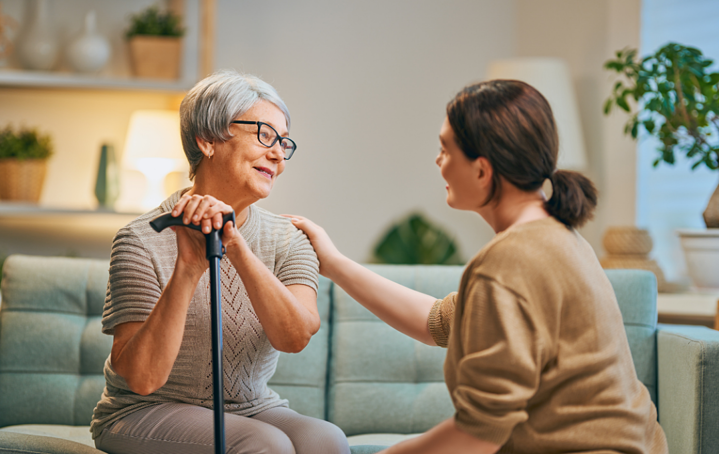 Caregiving for a loved one, caring for an older parent